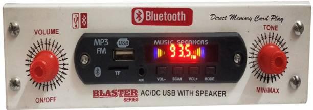 SMJEET Multipurpose MP3/USB/Bluetooth Player use in car home shop inbuilt mini speaker Car Stereo
