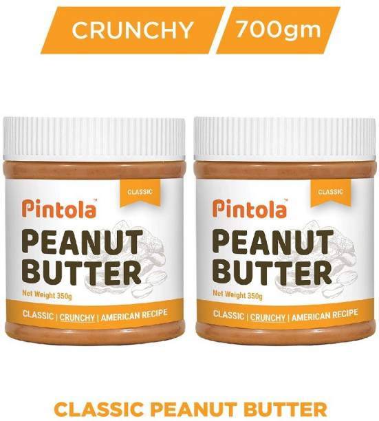 Pintola Classic Peanut Butter (Crunchy) Pack Of 2 700 g