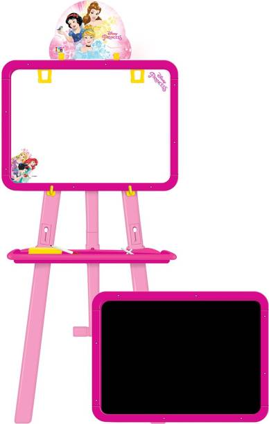 DISNEY Princess 5-in-1 Easel with 2 boards, stand and accessories