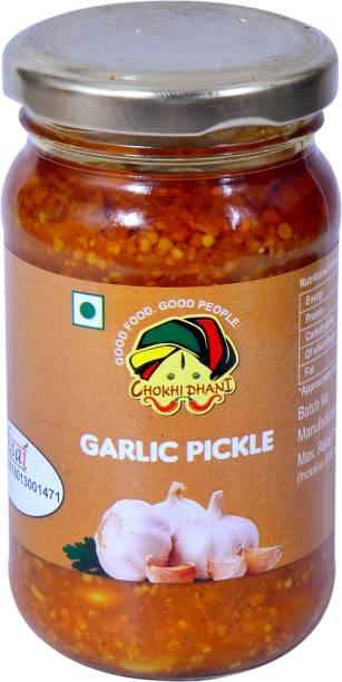 Chokhi Dhani Foods Garlic Pickle 200 gm Garlic Pickle