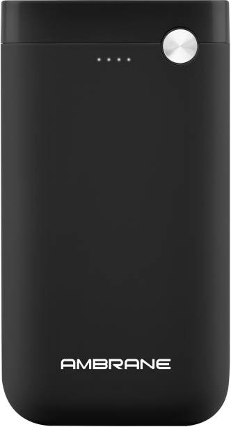 Ambrane 15000 mAh Power Bank (10 W, Fast Charging)