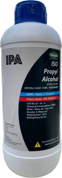 katyayani IPA Iso-Propyl Alcohol [(CH3)2-CH-OH] CAS: 67-63-0, 950ml for Computers, Laptops, Mobiles