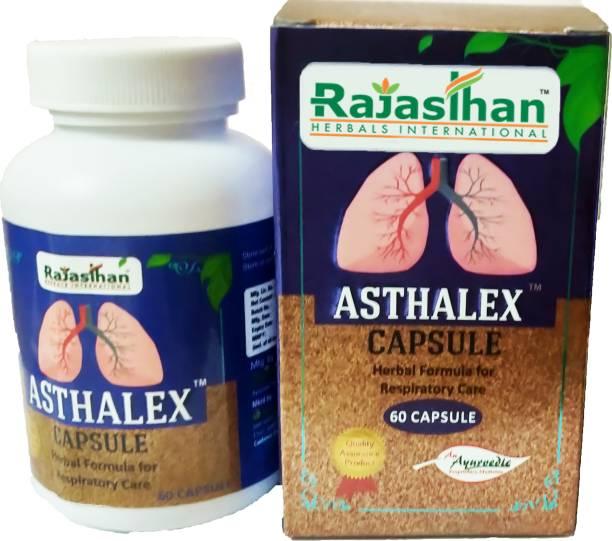Rajasthan Herbals International Asthalex Capsule ( 60 Capsule)