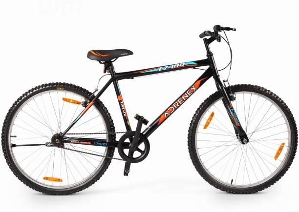 Adrenex by Flipkart CZ100 26 T 99% Assembled Hybrid Cycle/City Bike