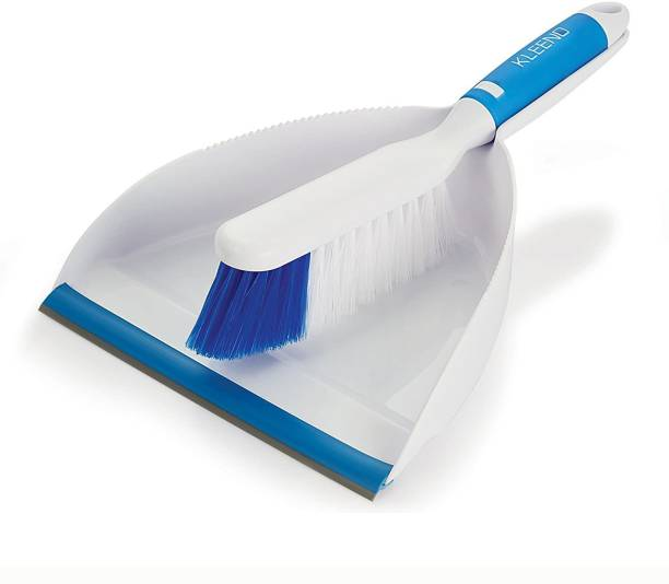 cello Dust Pan with Brush Plastic Dustpan
