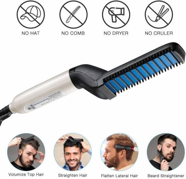 Wonder World ™IVX - ML - ML807 - Hair Straightening Comb Curler, Beard Straightener Hair Styler