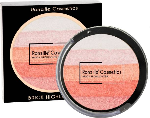 RONZILLE Baked Radiant Pigmented Shimmer Brick 1 Highlighter