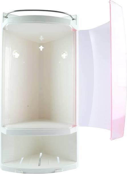 Zahab Trio Bathroom Cabinet with Storage Mini Wall Mounted Corner Shower Caddy Dual Mount Medicine Cabinet