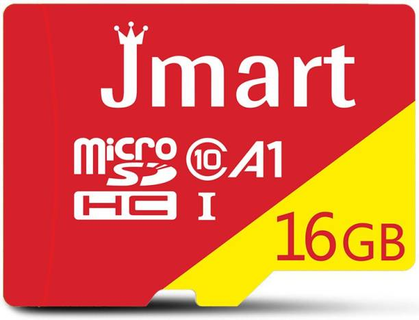 Jmart Ultra Premium 16 GB MicroSD Card Class 10 100 MB/s  Memory Card