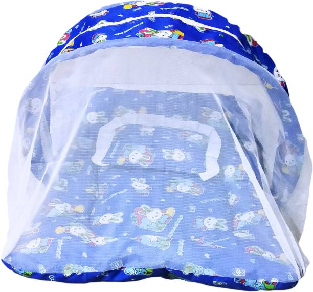 Lakshay Kids Collection Cotton Kids Baby Bedding Mosquito net upto 6 Months Mosquito Net