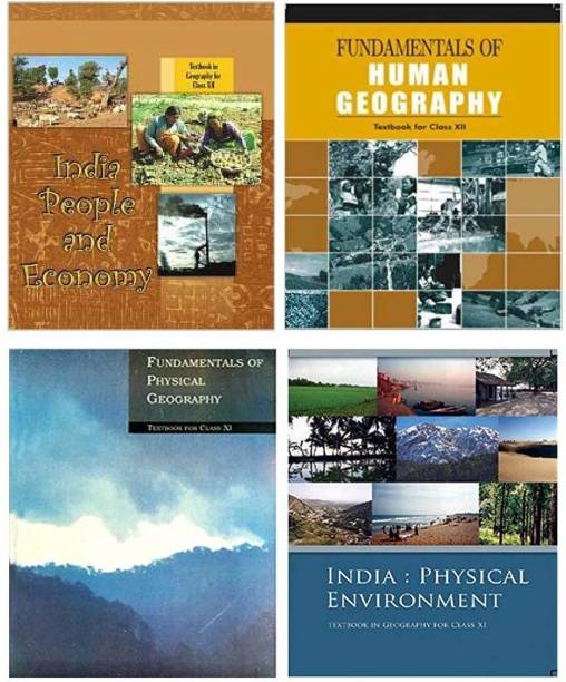 Ncert - Geography (New) Class 11-12 (India:Physical Environment Class - Xi, Fundamentals Of Physical Geography Class Ix, Fundamental Of Human Geography Class - Xii & India People And Economy Class-Xii)