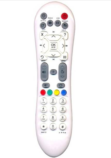 EmmEmm 100% Compatible Remote Control for Your  SD Dth Set Top Box Videocon D2h Remote Controller