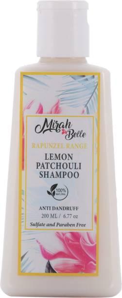 Mirah Belle Lemon Anti - Dandruff Shampoo - 200 ml - Heals Dandruff and Cleanses Scalp - Sulfate & Paraben Free
