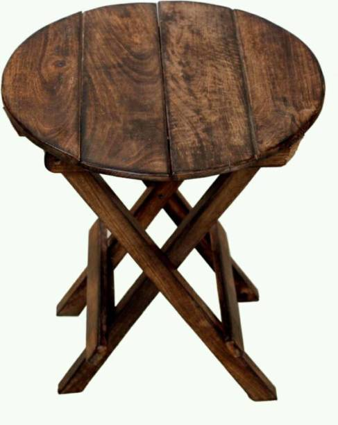 Eco Handicrafts Antique wooden table , wooden stool for home Solid Wood Side Table