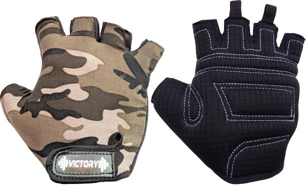 VICTORY INDIA Best Skin Fit Cycling / Biking /Riding Glove Cycling Gloves