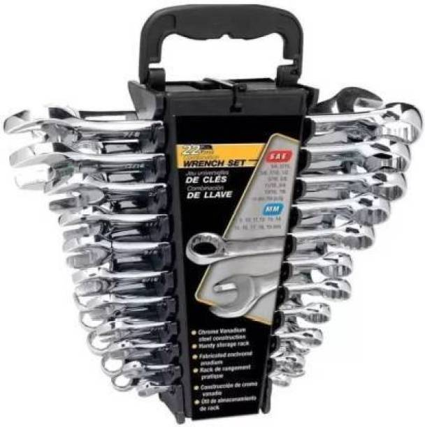 Sitrus wrench set 12 piece 12 pc combination wrench set Double Sided Combination Wrench