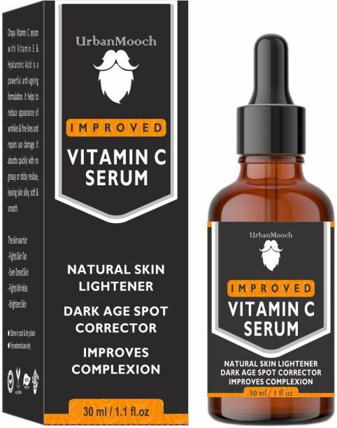 UrbanMooch Improved Vitamin C Face Serum For Skin Brightening, Skin Toning & Anti Ageing- (30 ml)