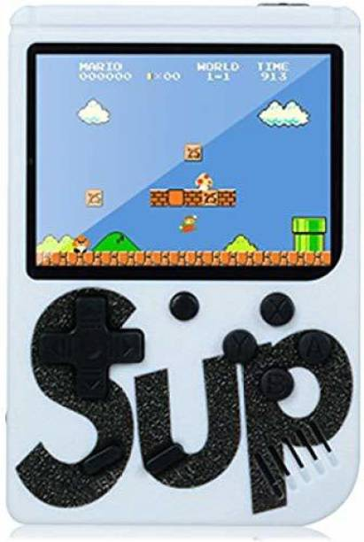 Toyvala Ultimate TV Video Game SUP Game Box with Mario/Super Mario/DR Mario/Contra/Turtles & Other 400+ Games with Battery Included 1 GB with Mario, Contra