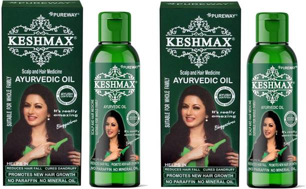 KESHMAX Ayurvedic Medicinal Oil (Pack of 2) Hair Oil
