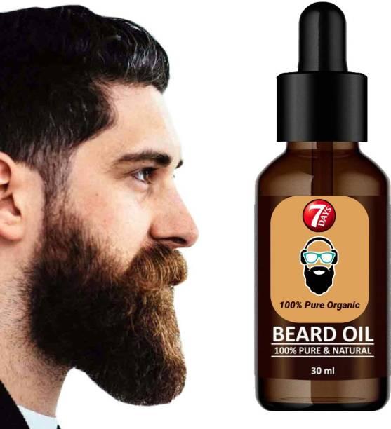 7 Days Beard Growth oil & almond oil Hair Oil