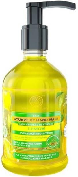 KHADI NATURAL LIQUID HAND WASH  LIQUID HAND SOAP Hand Wash Pump Dispenser