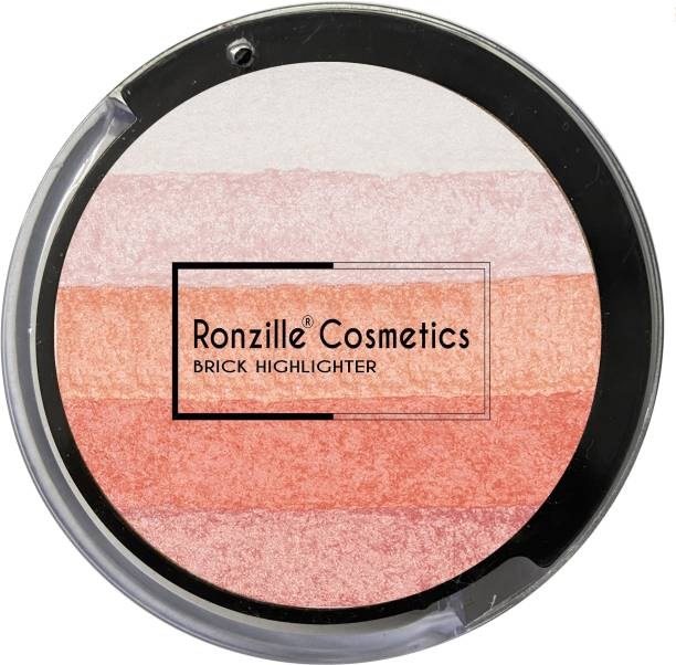 RONZILLE Baked Blusher & 02NO Highlighter