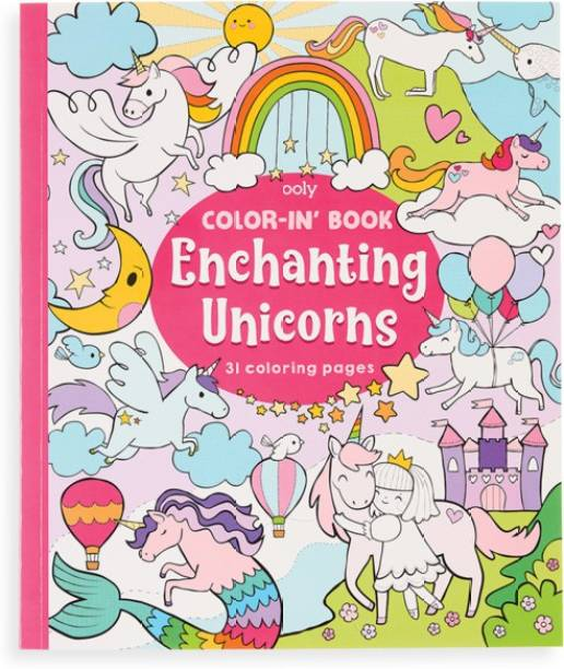 Ooly Unicorn Colouring Book