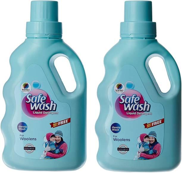 WIPRO Safewash 1+1 (500 G Each) Liquid Detergent