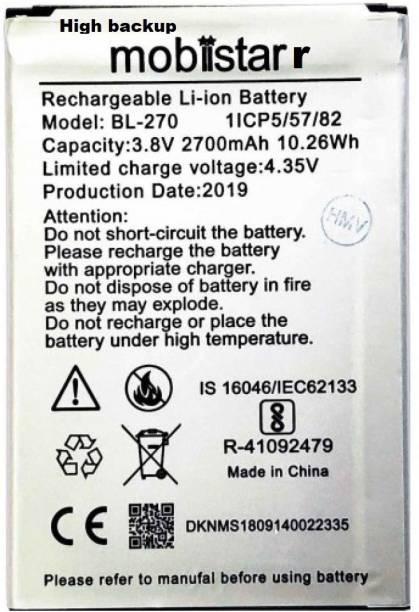 high backup Mobile Battery For  Mobiistar C1 Lite