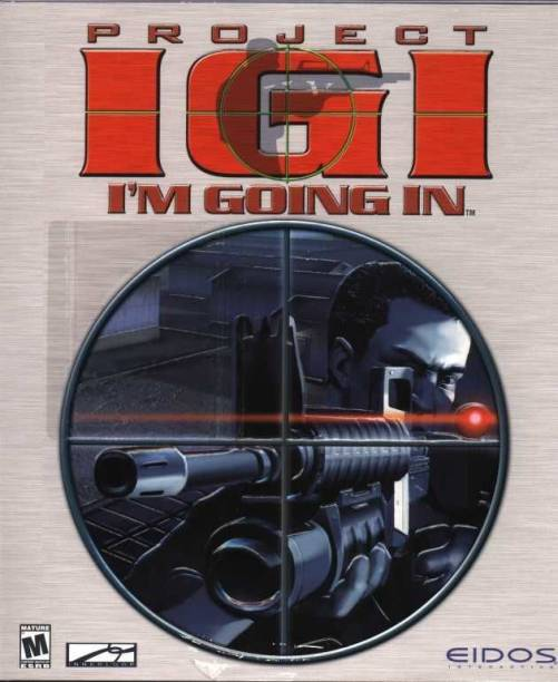 IGI 1 PC Game Physical CD (Exclusive Edition)