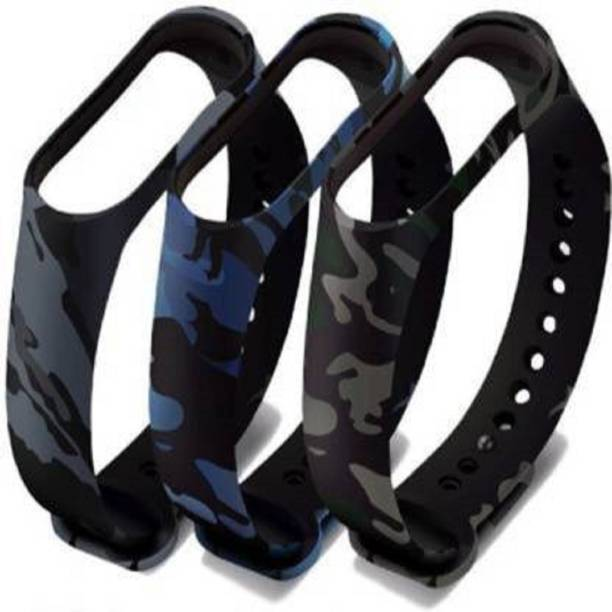 Pocket Whole Replacement Strap / Band/ Smart Band Strap Pack of 3 Smart Band Strap (Mullti Color) Smart Band Strap