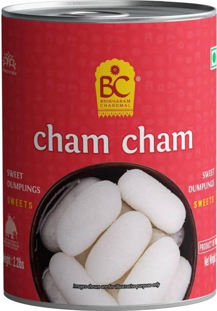 BHIKHARAM CHANDMAL Cham Cham Tin 1kg - Pack of 1 Tin