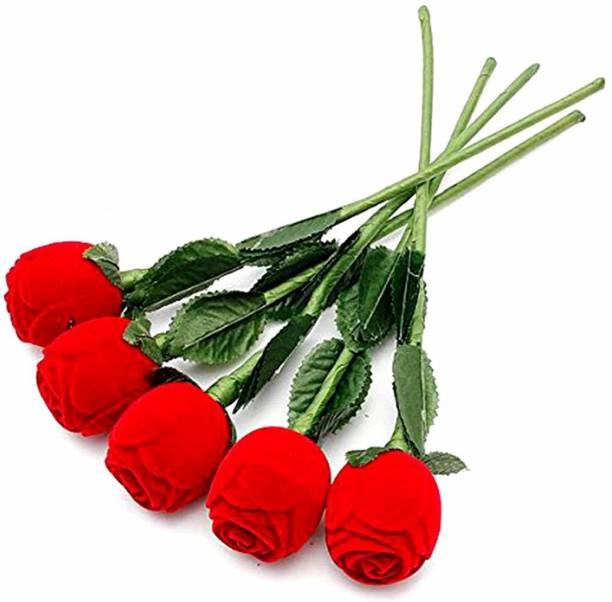 suvasane Ring Box For Gift 5 engagement, anniversary, propose, love Vanity Box