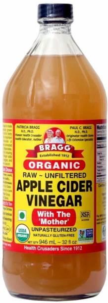 BRAGG Organic Raw Unfiltered Apple Cider Vinegar - 946 ml Vinegar