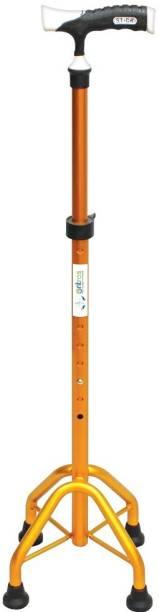 Entros Height Adjustable Walking Stick with 4 Legs-KL945L Walking Stick