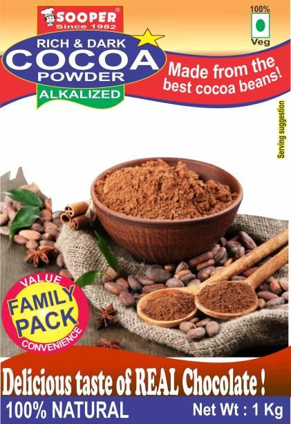 SOOPER COCOA POWDER 1 kg Cocoa Powder