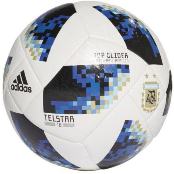 ADIDAS Telstar Football Replica-Blue Football - Size: 5