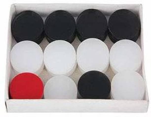 Domini Finish 26 Inch Carrom Board with Plastic Coins Striker Powder (Medium Size) 70 cm Carrom Board