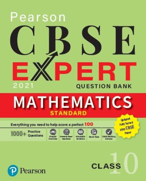 CBSE Expert 2021| Mathematics Question Bank for Class 10 | First Edition | By Pearson