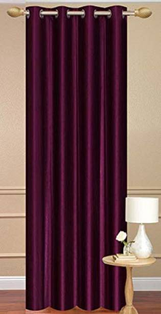 goycors 152 cm (5 ft) Polyester Window Curtain Single Curtain