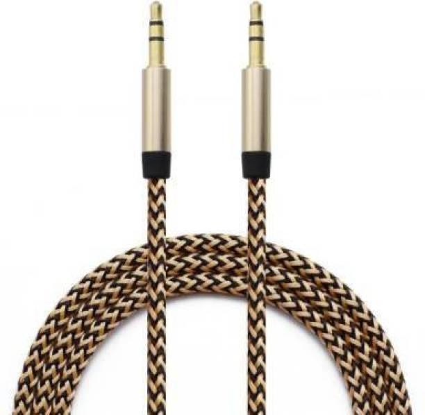 BLENDIA Nylon Braid AUX Cable 21 3.5 m AUX Cable