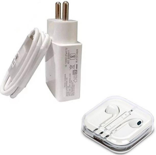 Mobile Geeks Wall Charger Accessory Combo for Infinix Hot S3,Realme 3,Realme U1,Realme C2,Realme 3i, Honor 9N, Oppo A5s,Vivo Y91,Infinix S4,Asus Zenfone Max ,Infinix Hot 7,Vivo Y81 Panasonic Eluga Ray X, Gionee S6s, Samsung Galaxy S7, Vivo Y55L, Samsung Galaxy On7, Lenovo P2, Samsung Galaxy On Nxt, Honor 6X, Coolpad Note 5, Samsung Galaxy J7, Oppo F1 Plus,Lenovo Vibe K5 Plus, Samsung Z2, Vivo Y51L, Moto G5 Dual Port Charger Original Adapter Like Wall Charger Cable, Mobile Power Adapter Cable, Fast Charger, Android Smartphone Charger, Battery Charger, High Speed Travel Charger With 1 Meter Micro USB Cable Charging Cable Data Transfer Cable