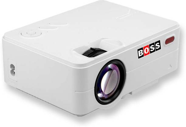 BOSS S12 Full HD 3D 2500 Lumens (3000 lm / Remote Controller) Portable Projector