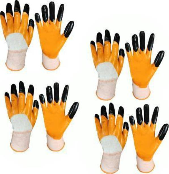 SSWW SUPERIOR QUALITY ANTI CUT SAFETY HAND GLOVE-004 Nylon, Synthetic, Latex  Safety Gloves