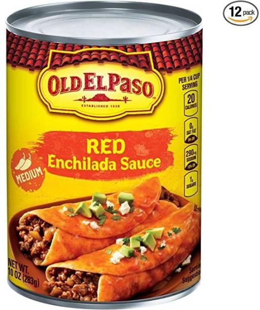 Old ELPaso Red Enchilada Sauce Medium, 283g Sauce