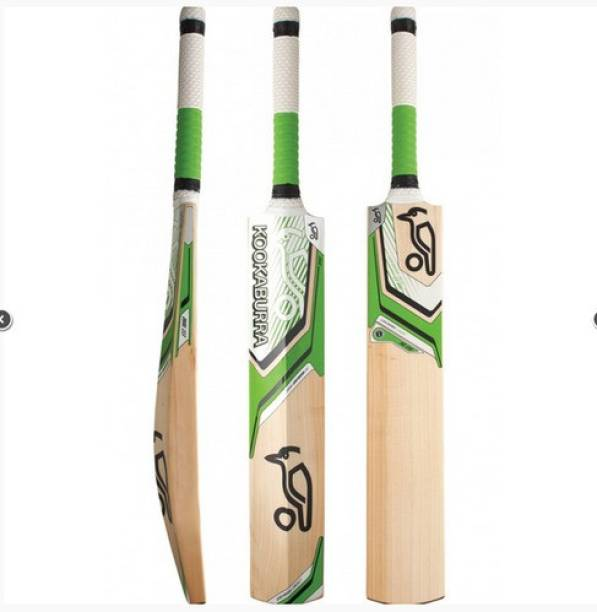 ironspots KOOKABURRA Kahuna Full Size ( Poplar Willow) Cricket Bat Poplar Willow Cricket  Bat