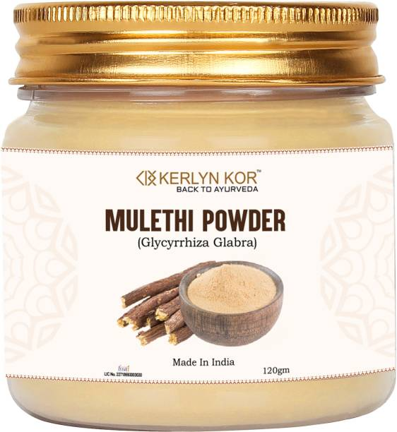 Kerlyn Kor Mulethi Powder ( Glycyrrhiza Powder ) -120 gm