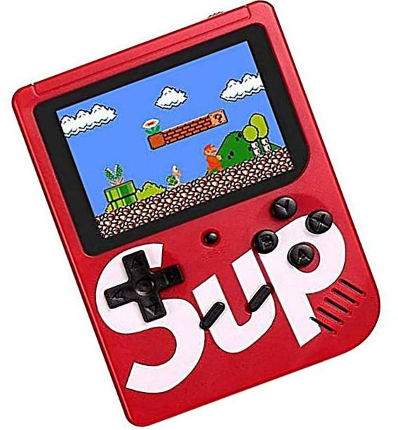 Toyvala Latest Version Of Retro TV Video Game SUP Gaming Box 400 in 1 Games Retro Game Box Console Handheld Game PAD with Mario/Super Mario/DR Mario/Contra/Turtles & Other 400+ Games Including retro arcade games, Logic & math, Sports, Puzzle, Shooting, Action, Racing, Fighting, Strategy, Adventure, board games and more (Battery Included) 1 GB with Mario, Contra, Including retro arcade games, Logic & math, Sports, Puzzle, Shooting, Action, Racing, Fighting, Strategy, Adventure, board games and more