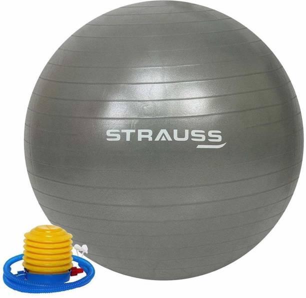 Strauss Anti Burst Grey 75 CM Gym Ball
