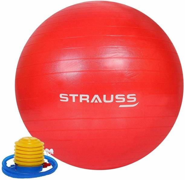 Strauss Anti Burst Red 55 CM Gym Ball